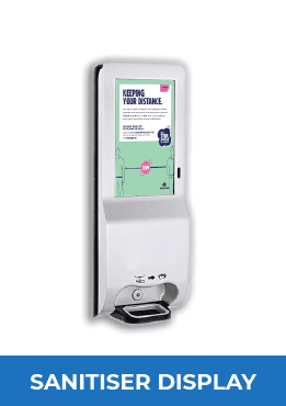 Digital Hand Sanitiser Display